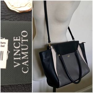 NWT Vince Camuto Addy Satchel